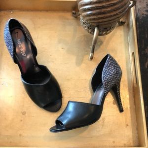 New Nine West Peep Toe Heels Shoes size 7 👠